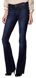 DL1961 Slim Boot High Rise Soft Dark Rinse Straight Leg Jeans-Dark Rinse