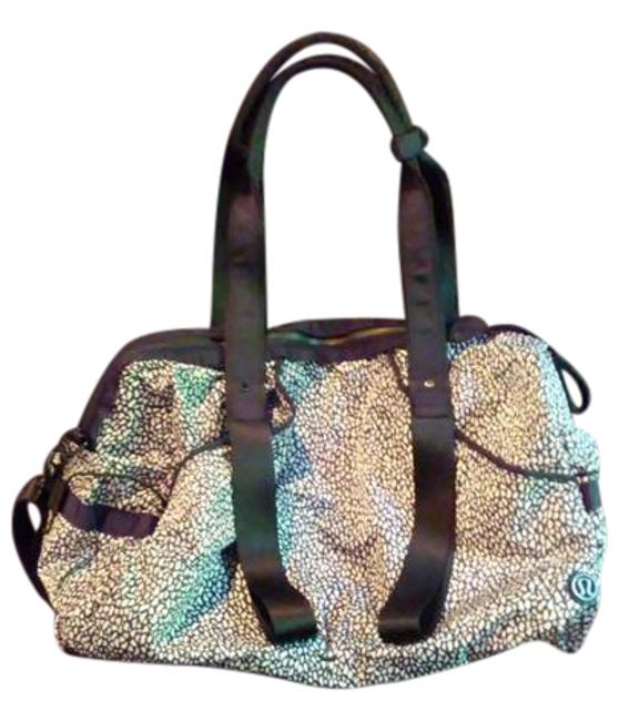 Item - Duffle Duffle/Gym Black and White Marble Weekend/Travel Bag
