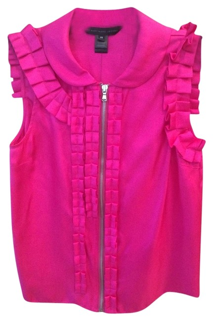 Marc by Marc Jacobs Top Hot Pink