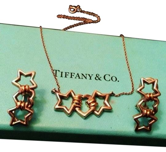 Preload https://item1.tradesy.com/images/tiffany-and-co-sale-rare-vintage-tiffany-and-co-sterling-and-18k-heart-and-star-jewelry-set-2141670-0-1.jpg?width=440&height=440