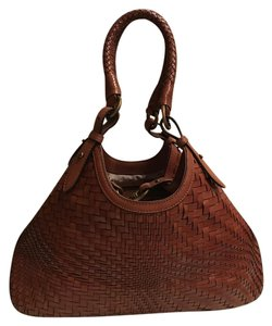 Cole Haan Tote in Saddle Brown / Cognac