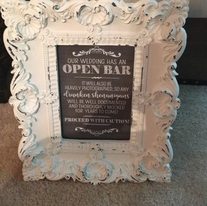 White Decorative Picture Frame