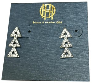 House of Harlow 1960 Triangles earrings