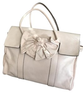 Mulberry Satchel in Pale Pink