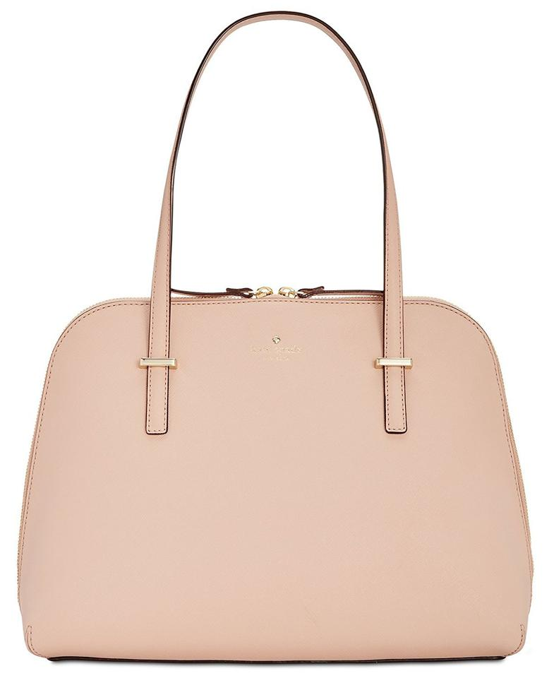 Kate Spade Maise Crosshatched Leather Shoulder Bag