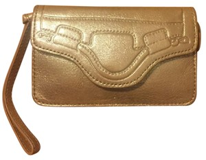 Foley + Corinna Wristlet in Gold