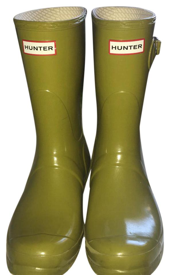 womens Hunter Limited Edition on-time Green Boots/Booties Rich on-time Edition delivery f89575