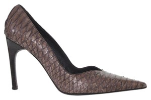 Barneys Co-Op Brown Pumps
