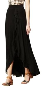 Anthropologie Maxi Skirt Black