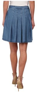 Catherine Malandrino Mini Skirt Chambray
