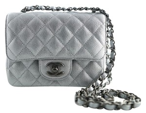 Chanel Classicflap Miniflap Mini Caviar Shoulder Bag