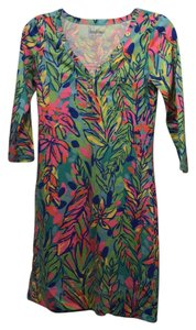 Lilly Pulitzer short dress multi green, blue pink yellow on Tradesy