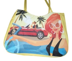 Other yellow/multi Beach Bag