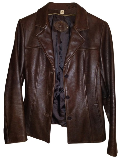 Wilsons Leather Dark Brown Jacket