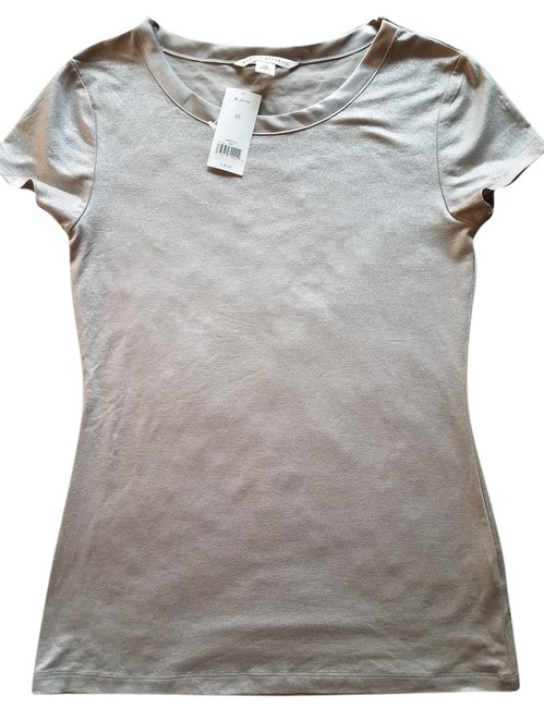 Item - Silver Tee Shirt Size 4 (S)