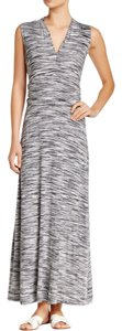black/ gray Maxi Dress by Vince Camuto