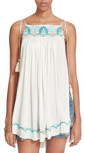 Free People Summer Top White