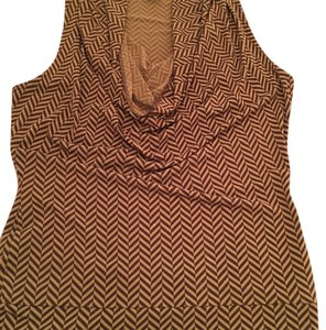 MICHAEL Michael Kors Top Brown and Toupe