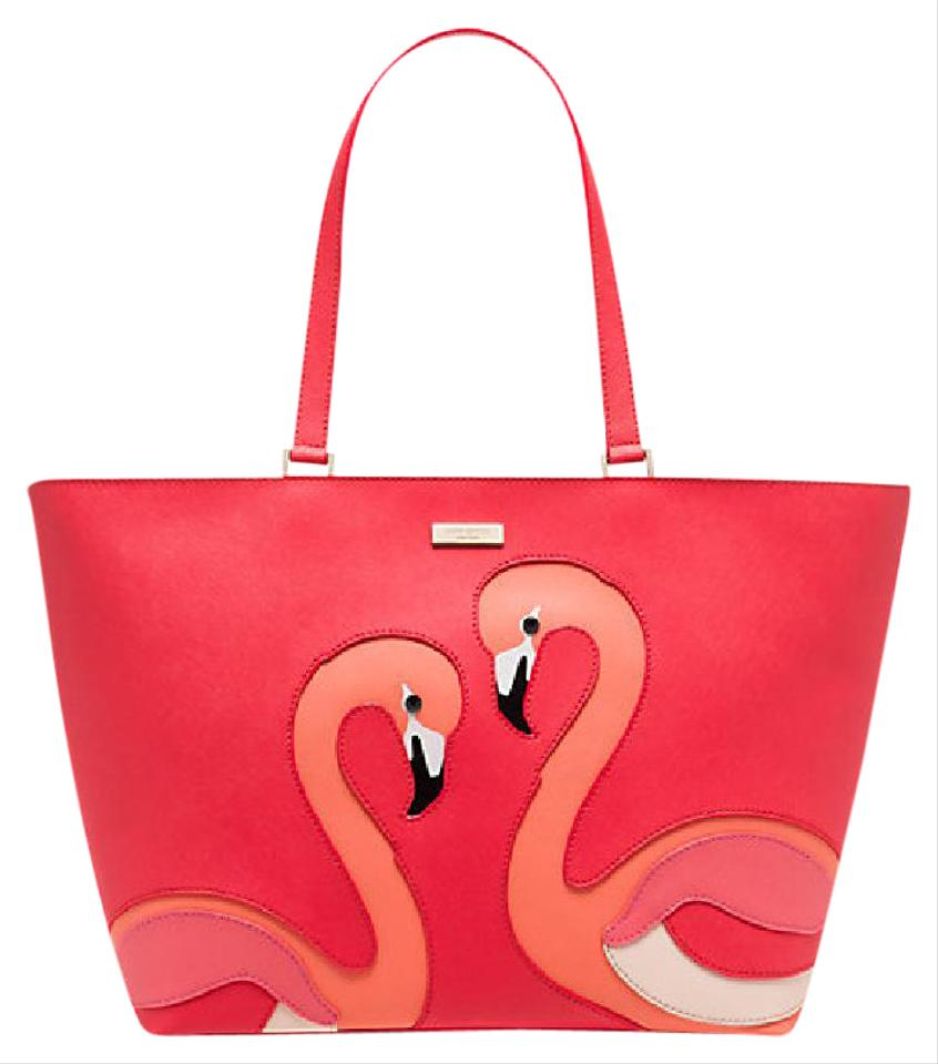 Kate Spade Flamingo Jules Tote Shoulder Bag - Tradesy