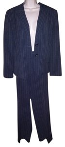 Jones New York Jones New York Pinstriped Pants Suit