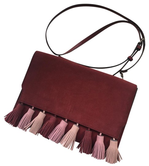 Preload https://item4.tradesy.com/images/rebecca-minkoff-sofia-tassel-clutch-red-suede-cross-body-bag-21419143-0-2.jpg?width=440&height=440