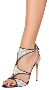 CASADEI Black and white Sandals