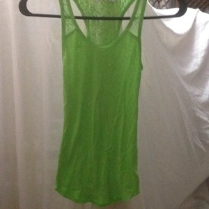 Abercrombie & Fitch Top lime green