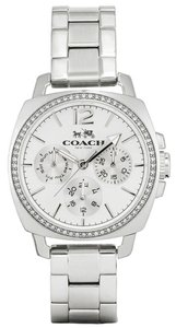 Coach Coach Boyfriend 14502126 Silver Stainless Glitz Chronograph Watch
