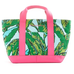 Vineyard Vines Tote in Green Pink