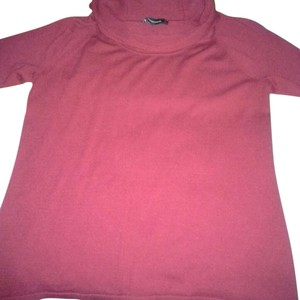Jones New York Drape Neck Spring/summer Top Red