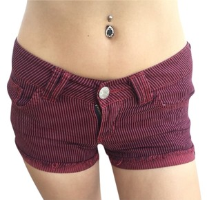 Tilly's Shorts Red And Black