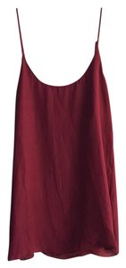 Show Me Your Mumu Top Maroon