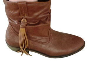 Route 66 Tan Boots