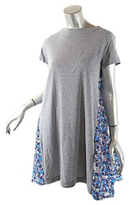 sacai short dress Grey with Blue Luck T Shirt on Tradesy