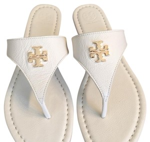 Tory Burch Ivory/white Sandals