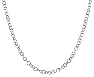 "Avital & Co Jewelry 14K White Gold Cable Link Chain 16"" Inches 6.0 Grams"