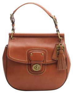 Coach 1941 Coach Satchel Leather Cross Body Bag