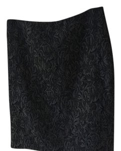 Ellen Tracy Skirt Silver/black