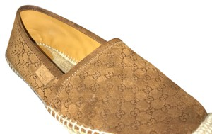 Gucci Brown/Almond Nut Flats