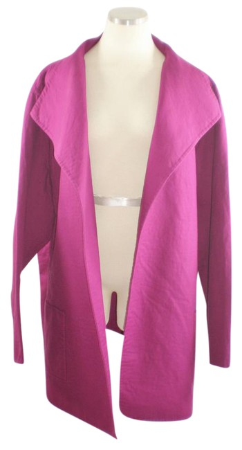 Item - Magenta Shawl Collared Open-jacket Jacket Size 26 (Plus 3x)