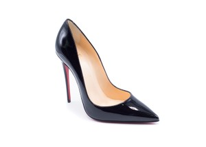 Christian Louboutin Classic Heels Red Sole black Pumps