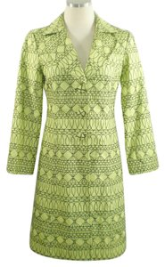 Nanette Lepore Embroidered Fit And Flare Trench Coat