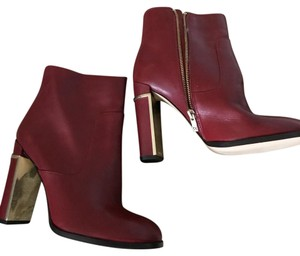 Calvin Klein Red with gold accents Boots
