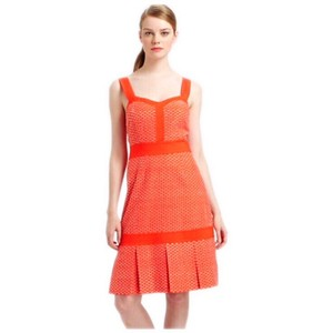 Tory Burch short dress orange Berndine Summer Sundress on Tradesy