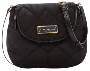Marc Jacobs Light Weight Quilted Diamond Nylon Classic Cross Body Bag