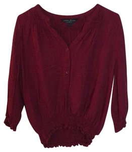 Guess By Marciano Top Burgundy