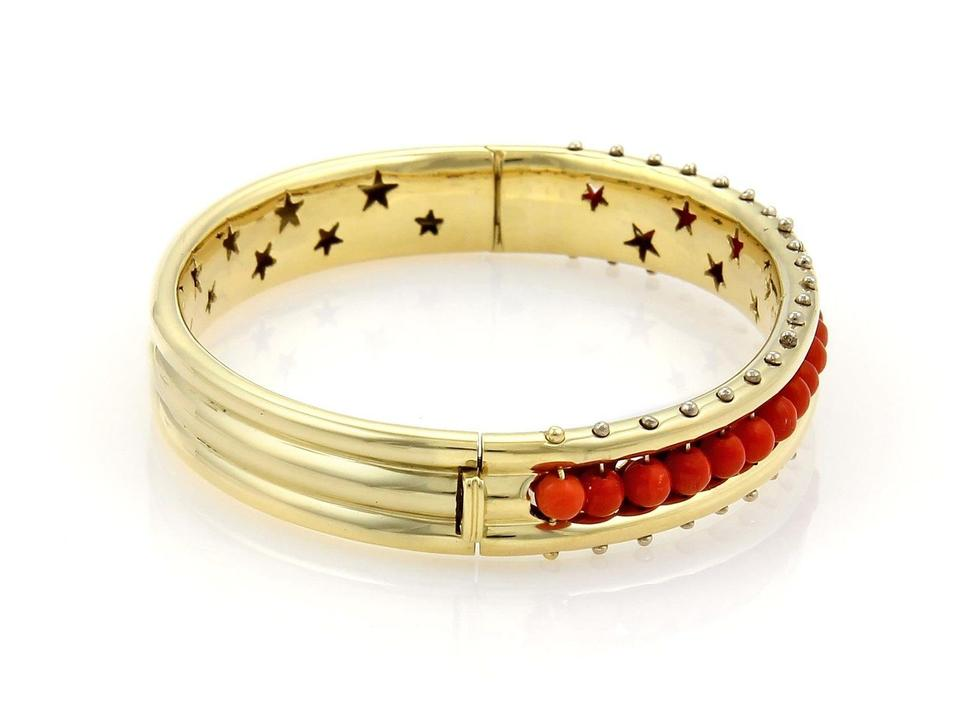 diamonds image bangle multi spike micro bracelet gold white with bangles