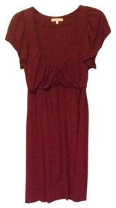 Matty M short dress Light Burgundy on Tradesy