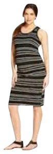 Liz Lange Maternity Tank Dress Stripe Print