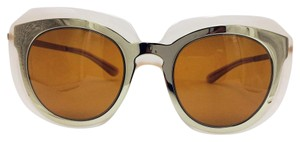 Dolce&Gabbana Gold Nude Butterfly Two Tone Sunglasses DG6104 3041/73